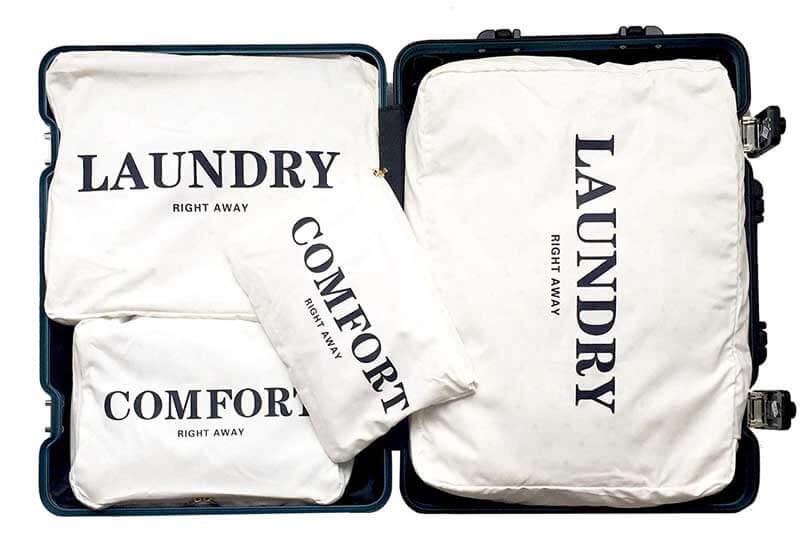旅行の必需品!トラベルポーチで荷物もかわいくパッキング